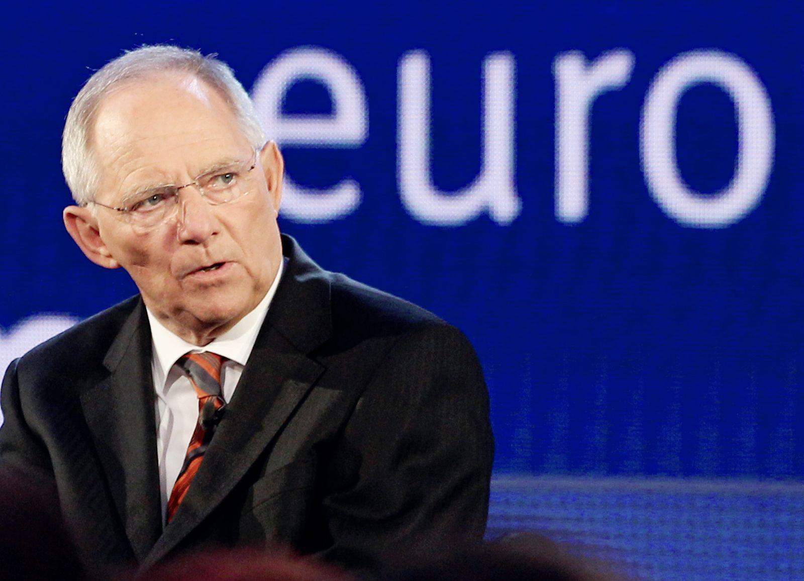 Wolfgang Schäuble / Euro