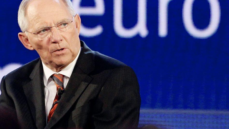 Sieht die Euro-Zone gegenüber einem möglichen Austritt Griechenlands gut gewappnet: Finanzminister Wolfgang Schäuble