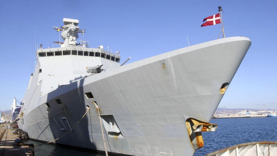 Dänische Fregatte (Archiv): Drohung mit Atomwaffen