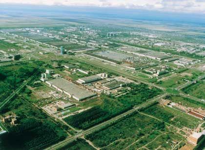 Industriekomplex: Togliatti, die Autostadt, wo Lada gebaut werden