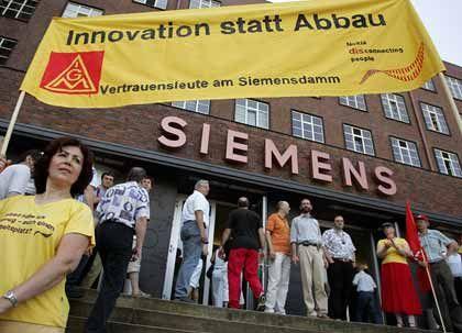 Probleme mit Protesten: Siemens wandte sich der IG-Metall-Konkurrenz AUB zu