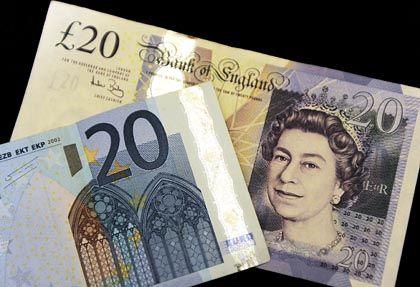 Kleiner Euro, großes Pfund? Diese Relation ist Geschichte