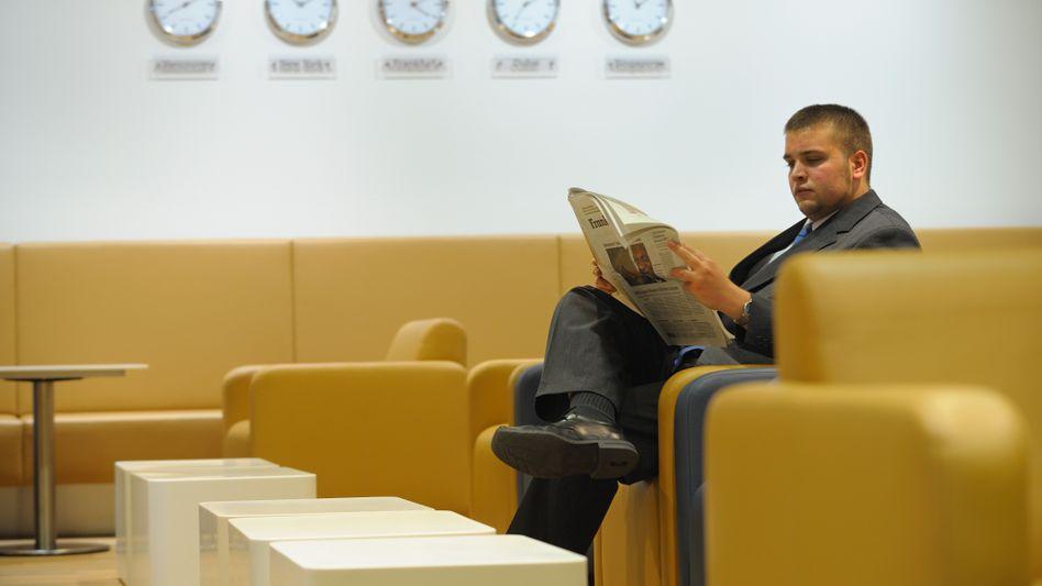First Class Lounge der Lufthansa: Konzerne wie Bayer und BASF erhalten Rabatte bei der Lufthansa, aber natürlich auch bei der Konkurrenz