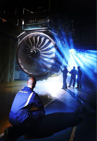 Triebwerk: Rolls Royce rechnet mit einem Umsatzplus für 2009