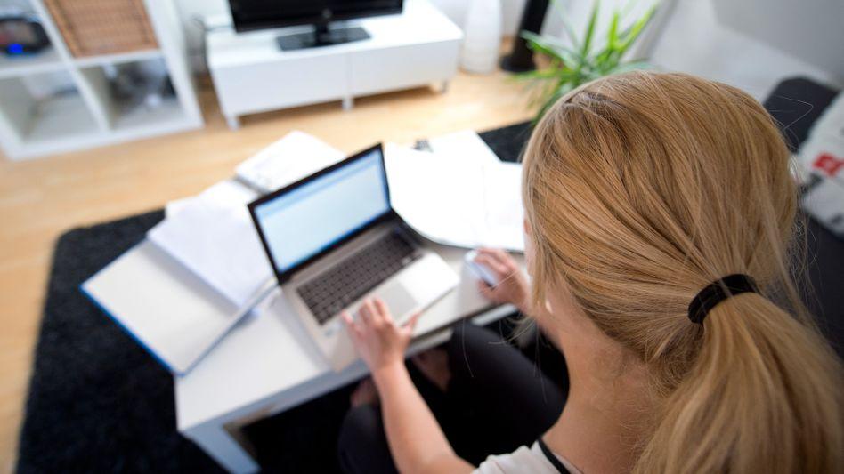 Schwachpunkt: Wer zuhause am Notebook arbeitet, ist virtuell oft angreifbar