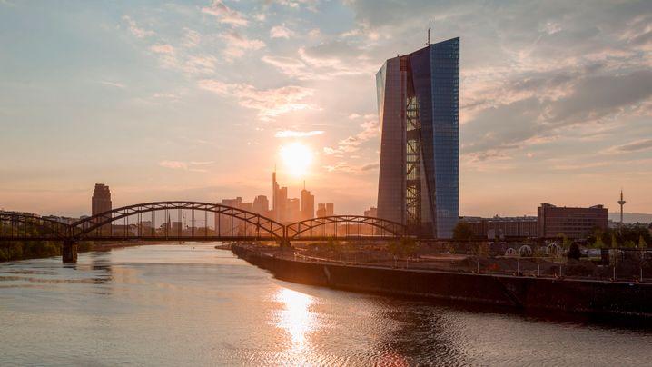 Neubau der EZB: Hier sitzen die Herrscher des Euro