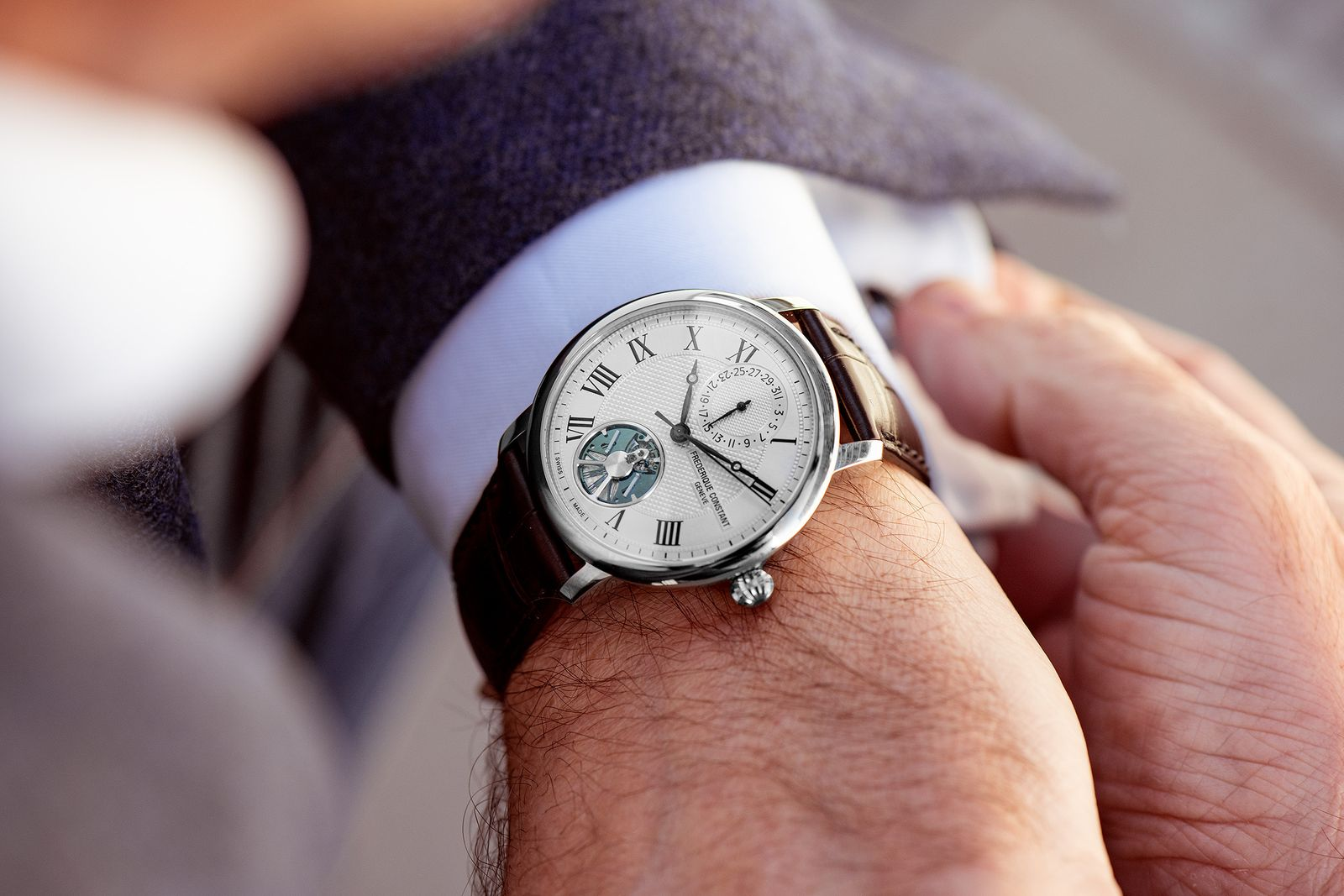 SIHH | Watches and Wonders | Frédérique Constant Slimline Monolithic Manufacture