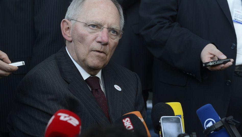 Wolfgang Schäuble: Neuer Vorstoß