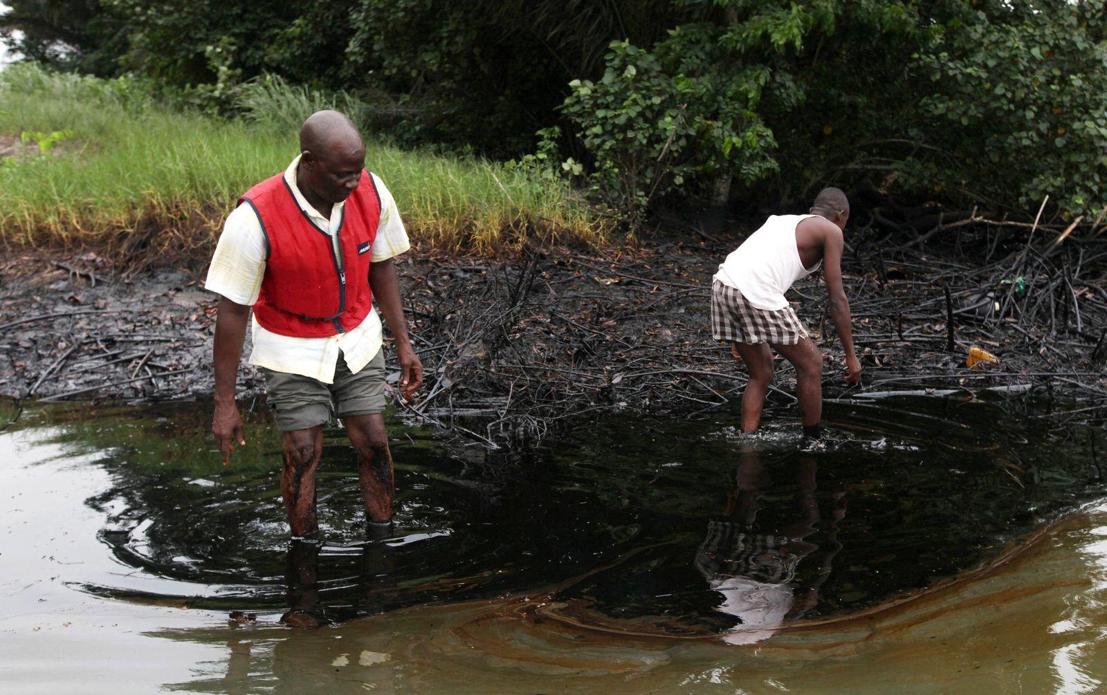 Ölverschmutzung / Nigerdelta