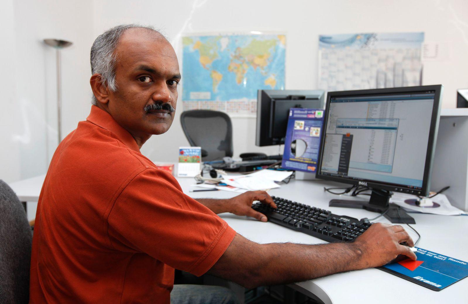 Deutschland/ Programmierer Indien