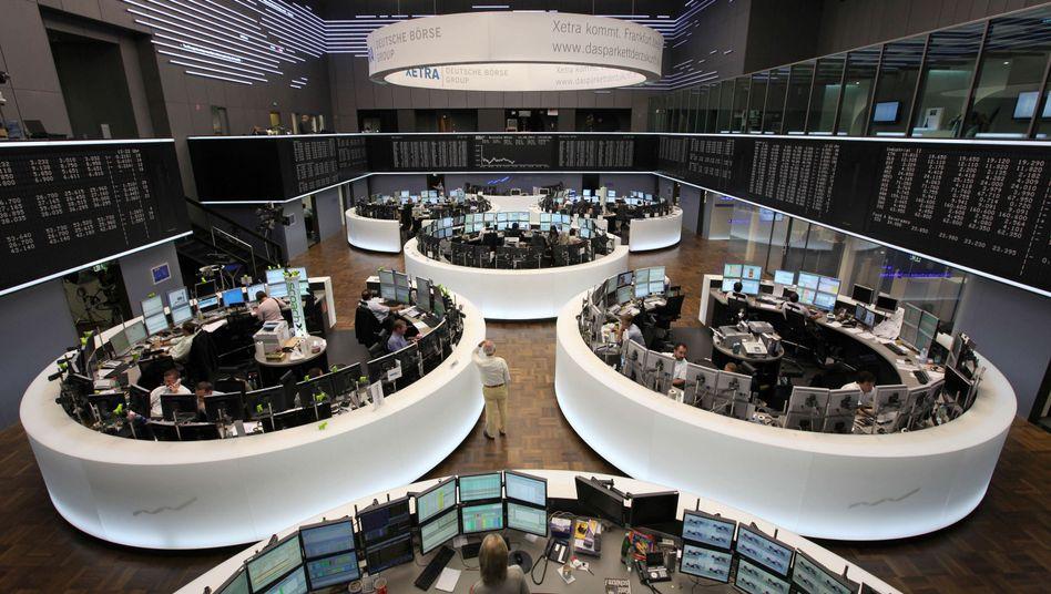 Börse in Frankfurt: Die Politik des Abwartens vertreibt immer mehr Aktiensparer