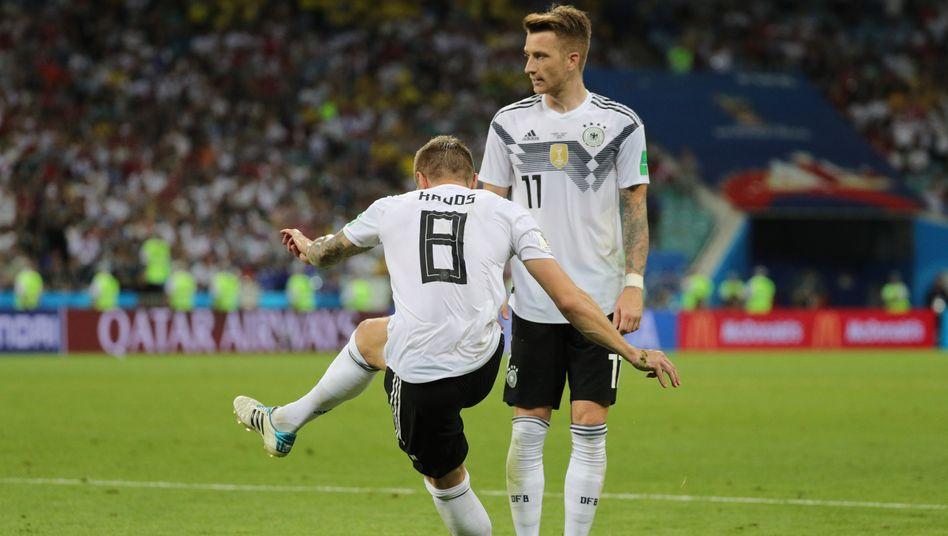 Knoten geplatzt? Toni Kroos schießt die deutsche Mannschaft gegen Schweden zum Sieg