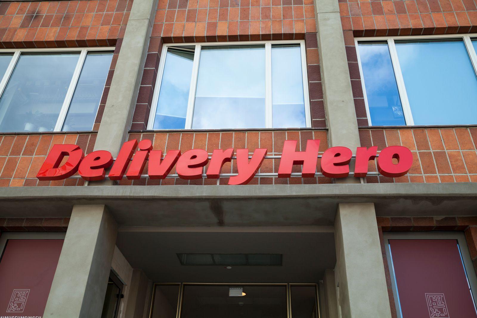 EINMALIGE VERWENDUNG Delivery Hero