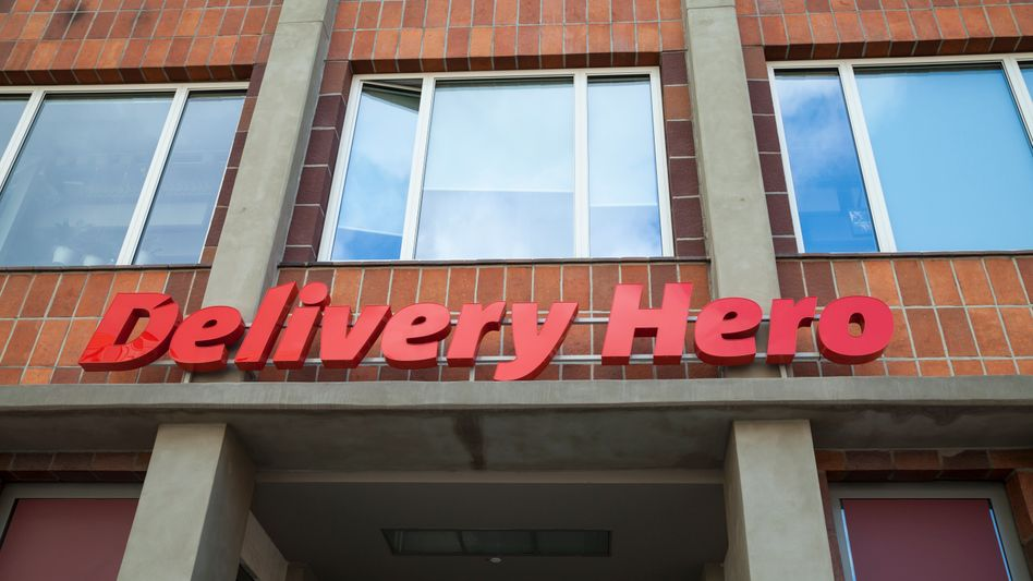 Der Hauptsitz von Delivery Hero in Berlin