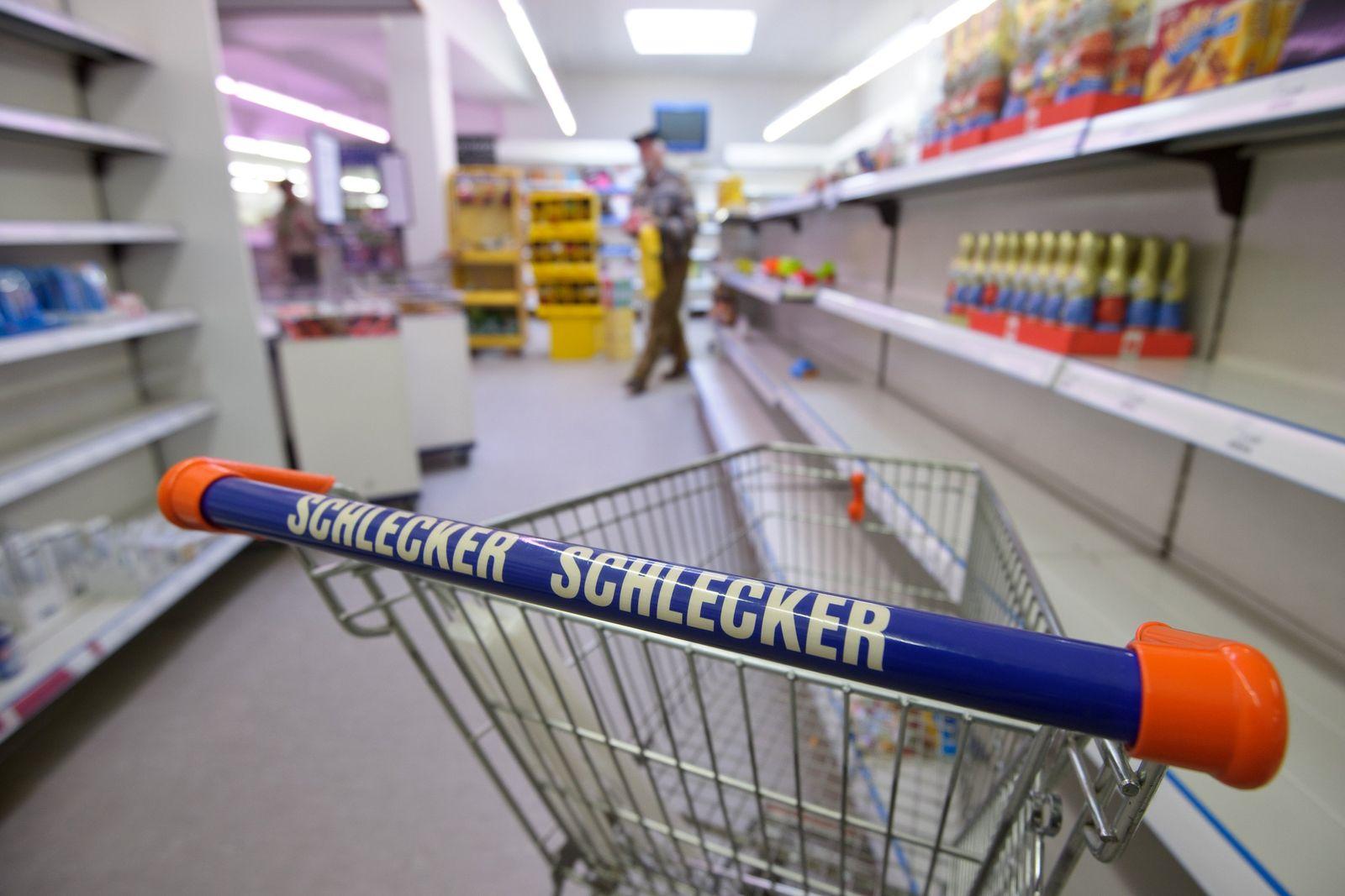 Schlecker/ Einkaufswagen