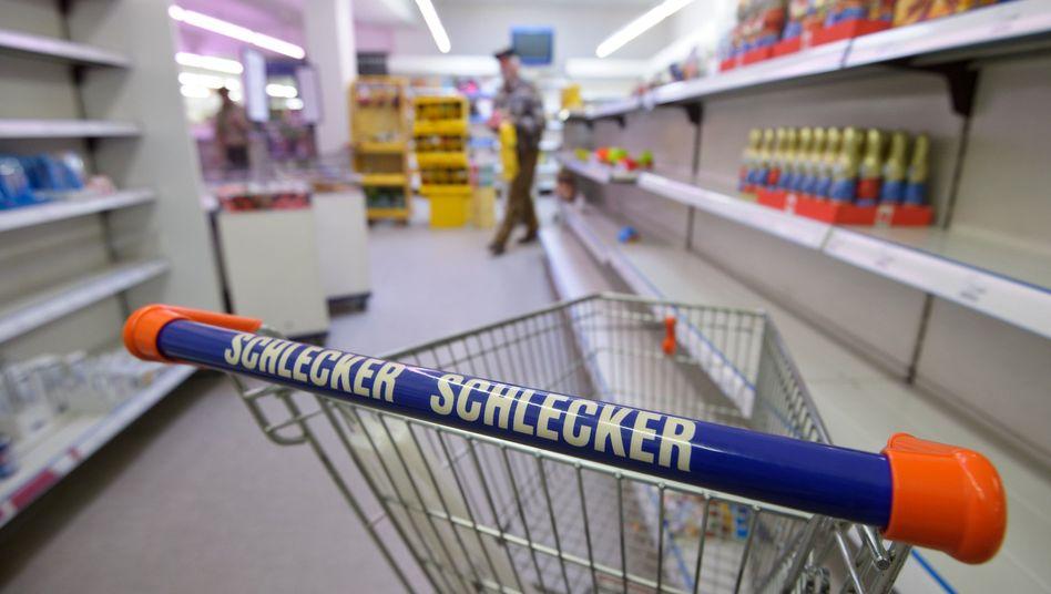 Kaum etwas zu holen: Forderungen von 665 Millionen Euro gegen Schlecker sollen maximal 27 Millionen Euro gegenüberstehen, die bestenfalls zu verteilen wären