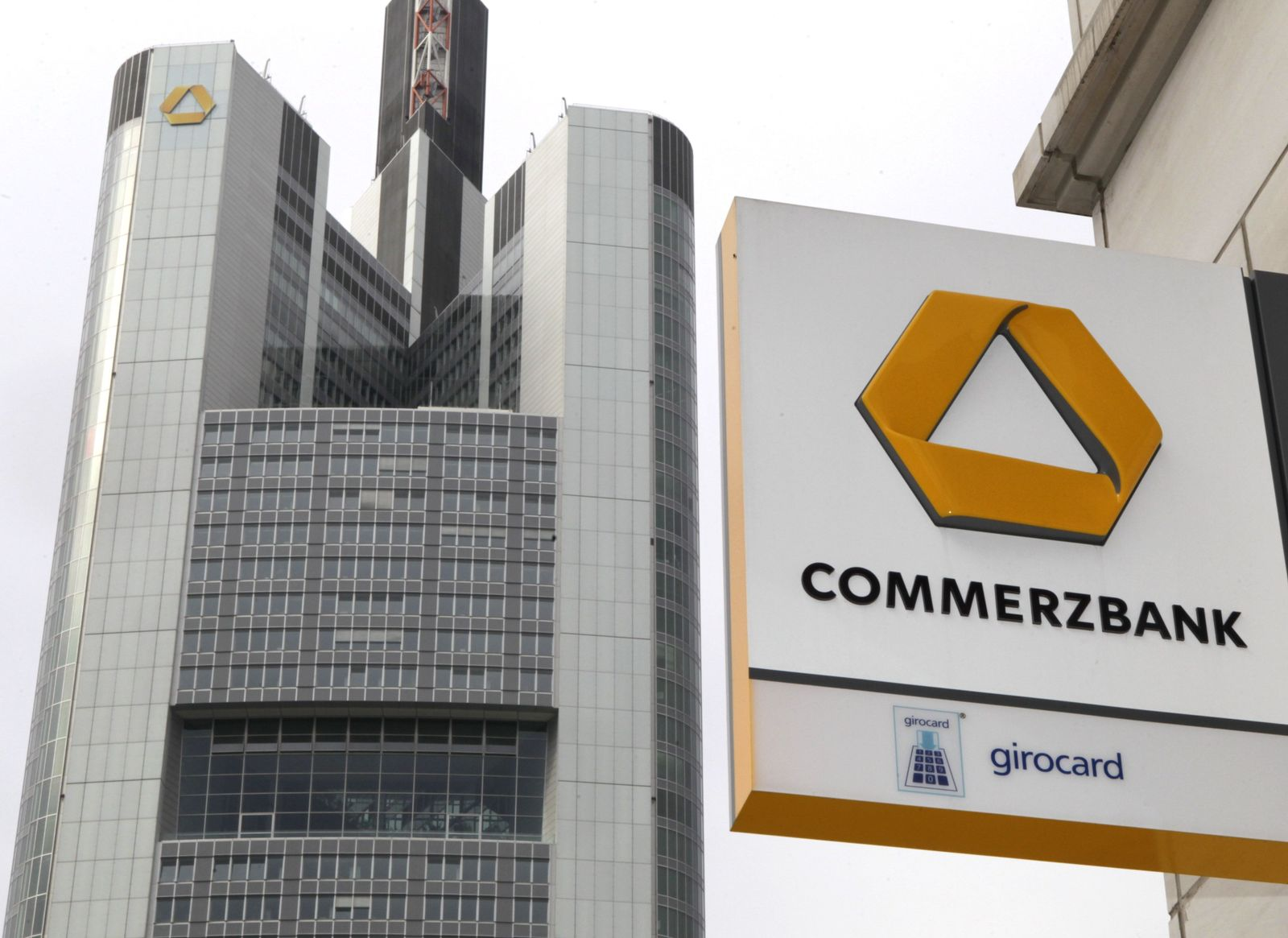 NICHT VERWENDEN Unternehmen/Commerzbank/Dresdner Bank