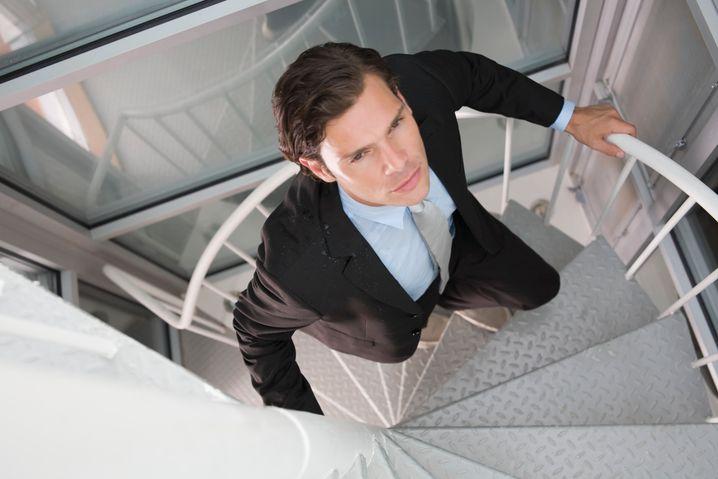 Treppe statt Aufzug: Simpel, aber wirksam