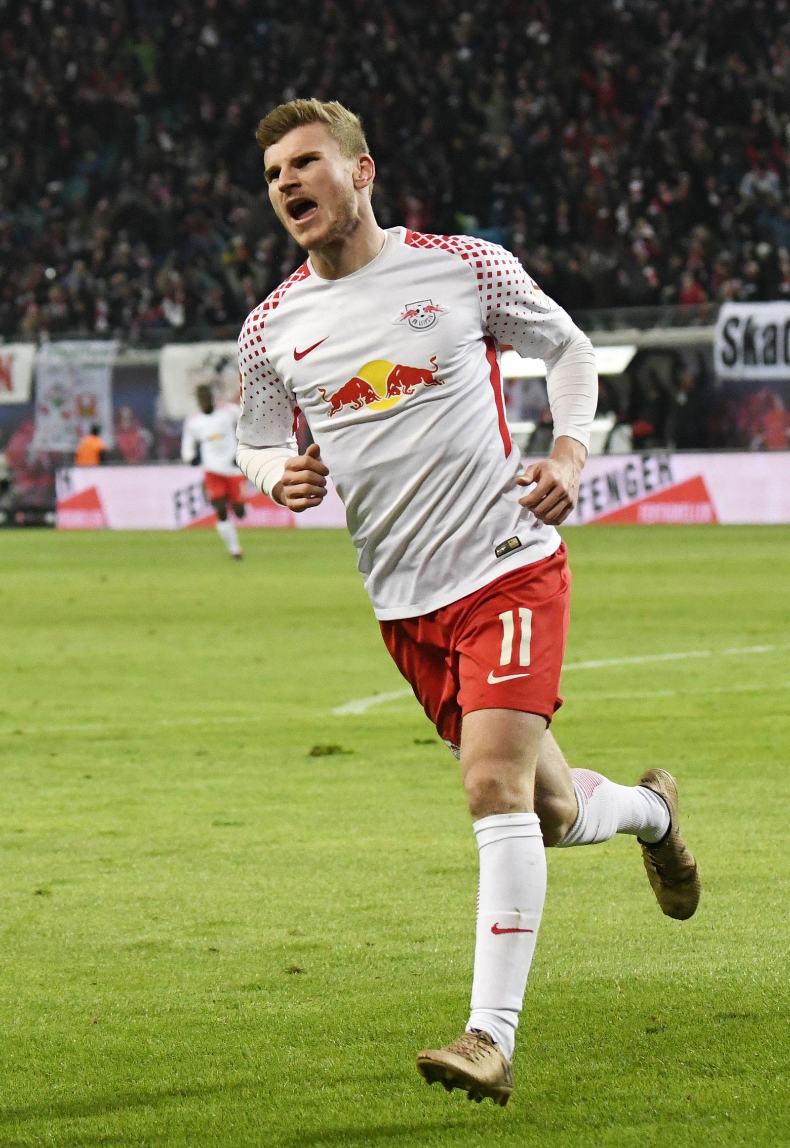 Tiom Werner RB Leipzig Bundesliga
