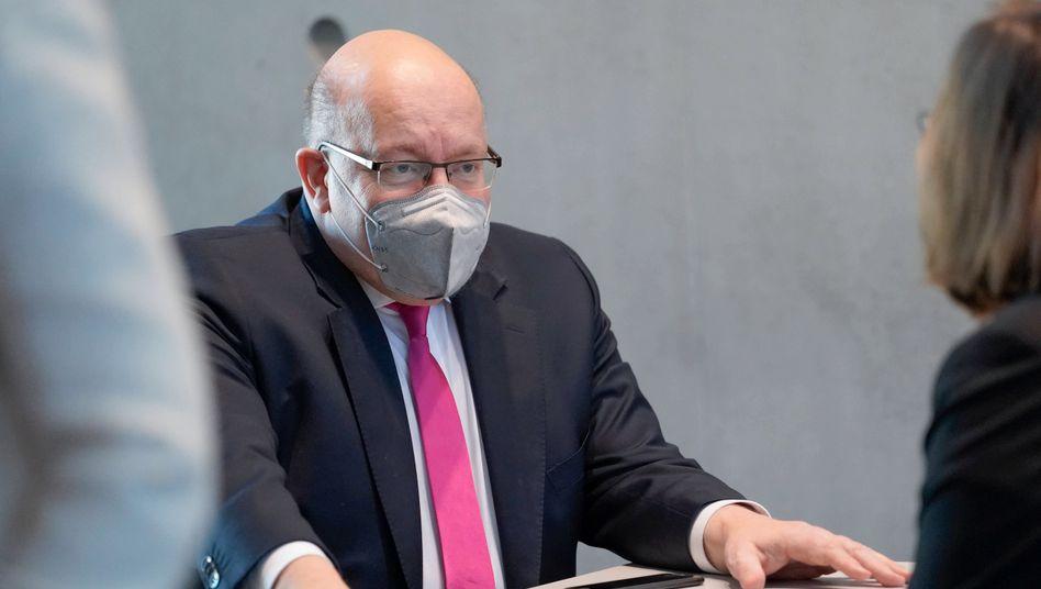 """""""Wirtschaftsministerium hat nur die Rechtsaufsicht"""": Wirtschaftsminister Altmaier verteidigt sich im Wirecard-Untersuchungsausschuss des Bundestags"""
