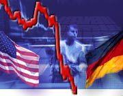 Schwache US-Börsen rissen die deutschen Aktienmärkte am Freitag in die Tiefe.