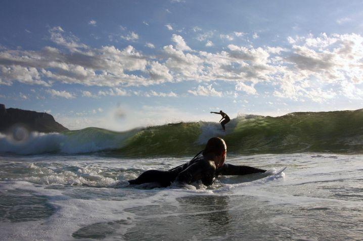 Die Idylle von Glen Beach