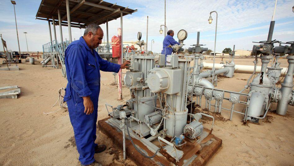 Ölförderung in Libyen: Das Angebot reicht nicht für günstige Ölpreise