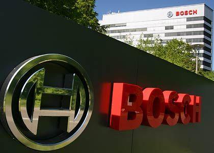 Umsatzrückgang größer als geplant: der Autozulieferer Bosch