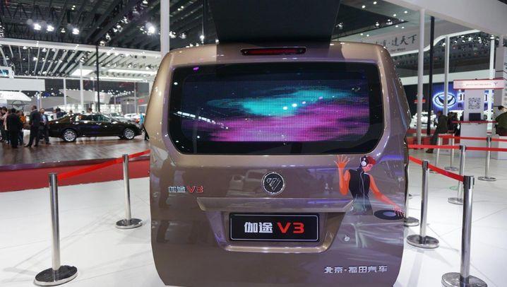 Messerundgang: Die schrägsten China-Kracher der Shanghai Auto Show