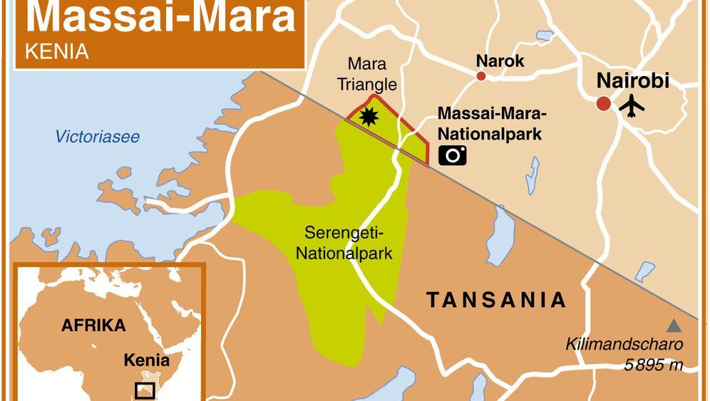 Massai-Mara-Nationalpark: Kenias zahme Wildnis