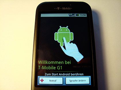 Handy-Betriebssystem Android: In Barcelona sind neue Google-Handys zu erweitern