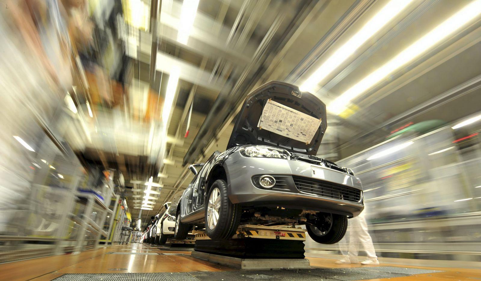 Konjunktur/ Volkswagen/ Produktion