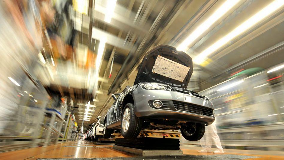 Volkswagen Stammwerk in Wolfsburg: Viele Neueinstellungen bei Europas größtem Autokonzern in 2011