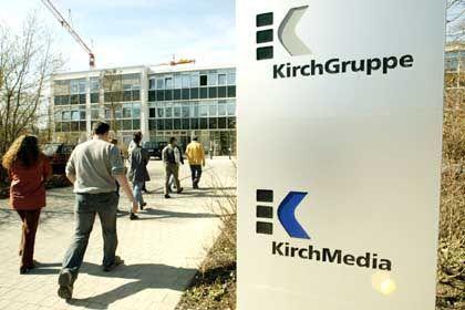 Keine Kapitalspritze durch Investoren: Die Zentrale der KirchMedia in Ismaning bei München