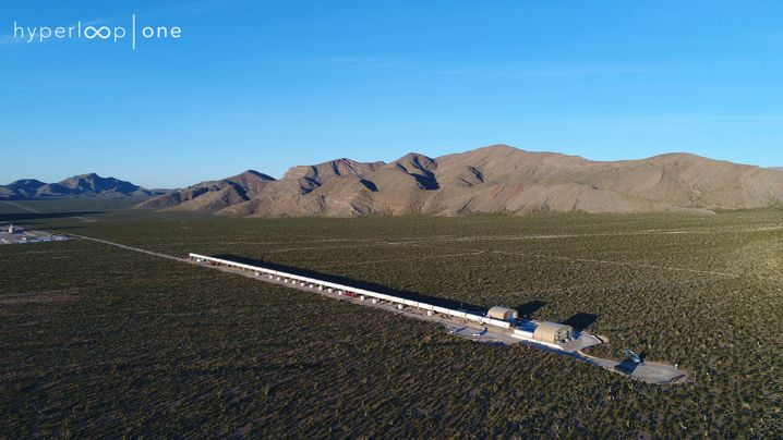 Unterdruck-Rakete mit 1200 Stundenkilometern: Auf diesen Strecken soll der Hyperloop durch Europa fegen