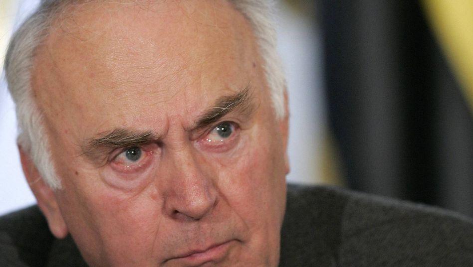 Ehrgeizig: Wolfgang Böhmer will in Sachsen-Anhalt ab 2013 keine neuen Schulden aufnehmen