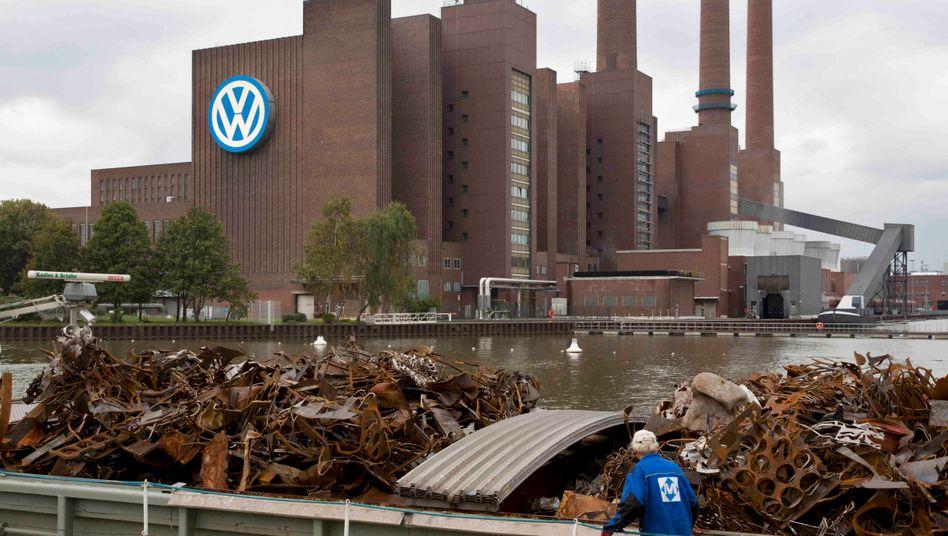 Wie stark wird der Einbruch? Volkswagen in Wolfsburg