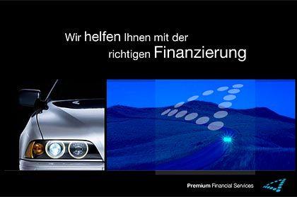 BMW Banner: Durch technische Entwicklungen ist die Internetwerbung heute viel unterhaltsamer