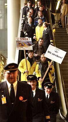 Erinnerung an 2001: Der Pilotenstreik setzte die Lufthansa außer Gefecht