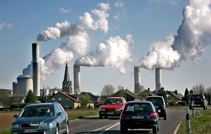 Große Anstrengungen: Vor allem im Verkehrssektor müssen CO2-Emissionen verringert werden