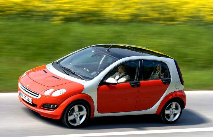 Daimler-Kleinwagen Smart Forfour