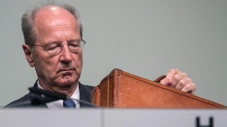 Immerhin: Hans Dieter Pötsch, Vorsitzender des VW-Aufsichtsrats, ist der einzige Chefkontrolleur im Dax mit einem eigenen Sprecher.