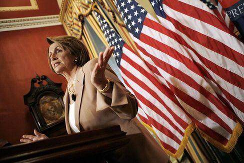 Nancy Pelosi: Die demokratische Präsidentin des Repräsentantenhauses will weitere Milliardenhilfen für die US-Konjunktur noch in diesem Monat.