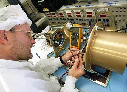 Guter Ruf: Elektroingenieur bei der Arbeit