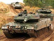 Umstrittenes Exportgut: Kampfpanzer Leopard II