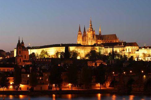 Prag: Bald auch durch Eon-Strom erleuchtet