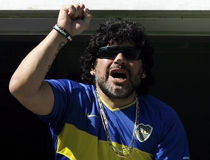 Fußballliga gerettet: Das freut auch Argentiniens Nationalidol Diego Maradona