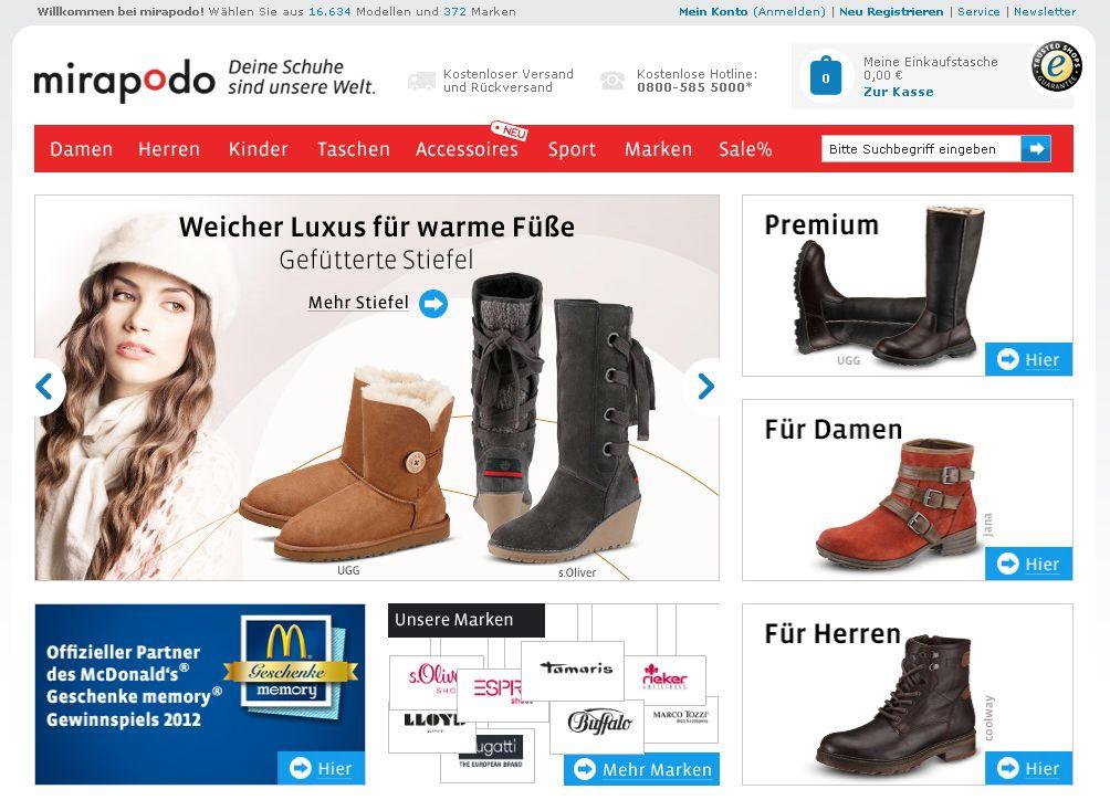 Mirapodo / Schuhe