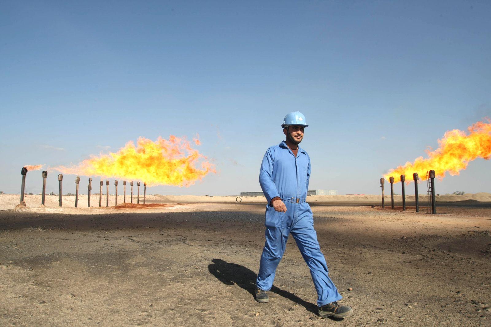 Irak/ Öl/ Ölfeld