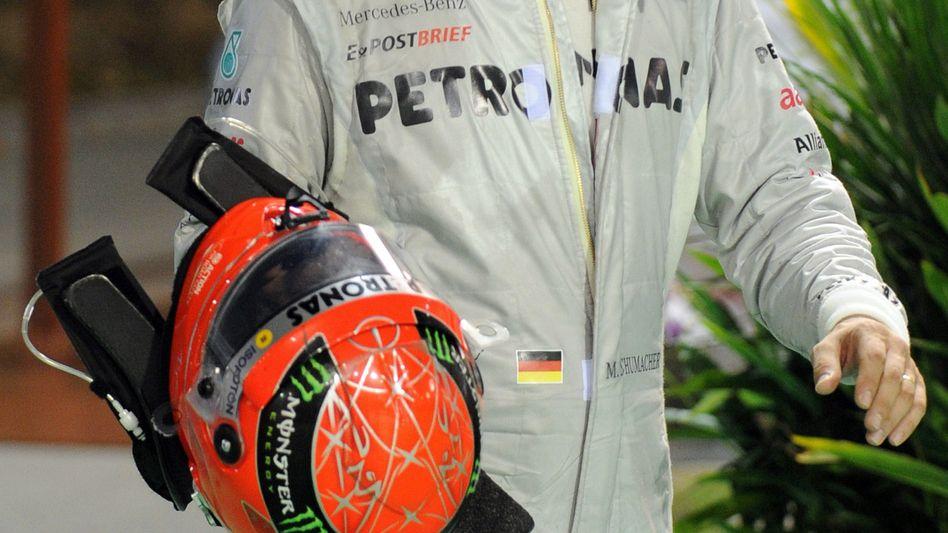 Rennfahrer Michael Schumacher: Kein neuer Vertrag bei Mercedes